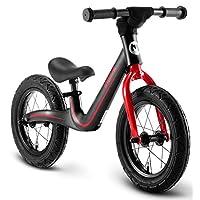 Chipmunk RoyalBaby 运动平衡自行车,适合 2 至 5 岁男孩和女孩,无踏步行自行车,带轻质镁框架,EVA 或充气轮胎,多色可选 12 CM-B001KR