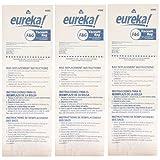 正品 Eureka F&G 一次性防尘袋 52320C-6 白色 3 Bags 52320C
