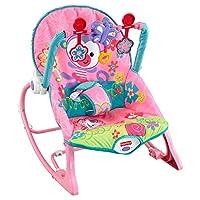 Fisher-Price 费雪 婴幼儿摇椅 粉色 (体重低于18kg婴幼儿适用)