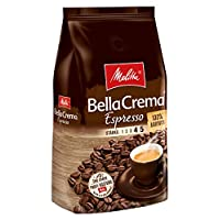 Melitta 美樂家 咖啡全豆 純阿拉比卡,濃郁,強度4-5,BellaCrema Espresso(意式濃縮咖啡),1kg