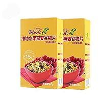 V.D.Food 维地 水果燕麦谷物片(即食谷物)15% 水果果干含量进口冲饮谷物 500g*2(德国进口)