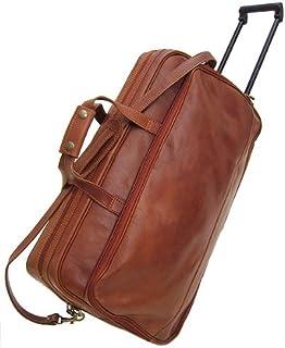 Floto Luggage Venezia 手推车轮行李袋 Vecchio 棕色 均码