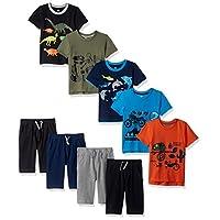 Gerber Graduates 男婴 9 件套,包装盒,5/上衣 4/短裤