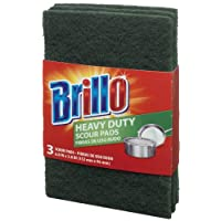 Brillo Heavy Duty Scour Pads, 3 Count