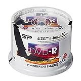 Silicon Power 数据用DVD-R 4.7GB 1-16倍速对应 白色宽打印机蓝SPDR47PWC50S 50枚