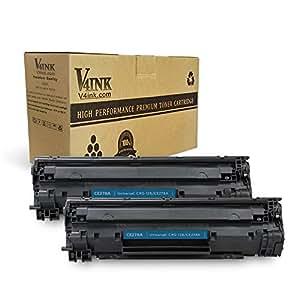 v4ink 兼容惠普 CE278A HP 78A 硒鼓 CANON 128墨粉适用于 HP LaserJet P 1606dn P p1560m1536dnf ,佳能 imageclass D530D550faxphone L 100L 190mf4770N mf4570dw mf4770N