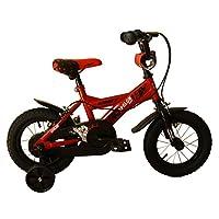 """umit J 1250儿童自行车 , 儿童 , 红色 / 黑色 , 12 """""""