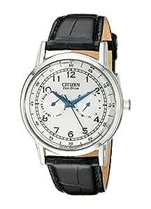 CITIZEN 西铁城 男士 AO9000-06B系列 银色不锈钢表盘外观 历型 休闲手表