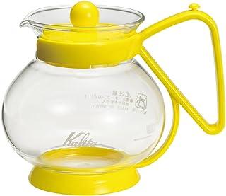 Kalita 茶包服务器 N 黄色 #31179