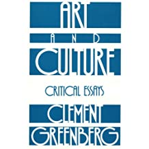 Art and Culture: Critical Essays (Beacon Paperback, 212) (English Edition)