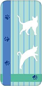 智能手机壳 透明 印刷 对应全部机型 cw-1241top 盖 猫 猫 猫 cat UV印刷 壳WN-PR453032 Huawei P9 EVA-L09 图案 A