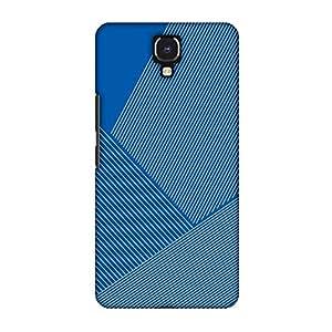 amzer 修身设计师扣紧式硬壳手机壳后盖壳带屏幕护理套装适用于 infinix note 4 Carbon Fibre Redux Coral Blue 1