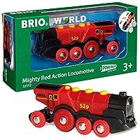 "BRIO""强大的红色""活动火车头"
