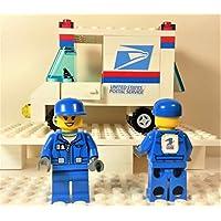 Lego USPS 邮政服务邮件递送卡车,带 1 个公仔定制城市