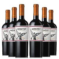 Montes 蒙特斯 经典马尔贝克红葡萄酒整箱装 750ml*6瓶
