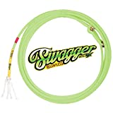 CACTUS ROPES Swagger Relentless 4 股头绳,带 CoreTX X-S 霓虹绿 480702