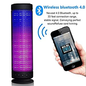 LED Bluetooth 4.0 Speaker