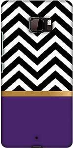 AMZER 修身款手工设计师印花硬壳手机壳后盖适用于 HTC U UltraAMZ601040127146 All that Glitters Chevron 2
