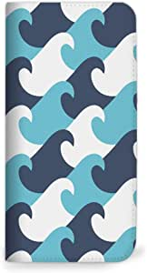 mitas iphone 手机壳974NB-0057-BU/SHV34 4_AQUOS SERIE (SHV34) 蓝色(无皮带)
