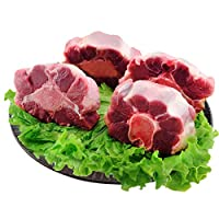 FuMeiBest 福美优选 牛尾骨500克*4份 内蒙古清真新鲜生鲜牛肉 顺丰包邮