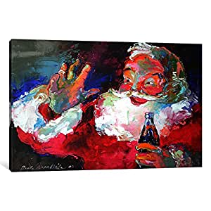 iCanvasART HOL39-1PC3 Claus Canvas Print by Richard Wallich, 0.75 by 26 by 40-Inch