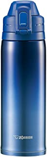 ZOJIRUSHI 象印 不銹鋼保冷杯 運動型 直飲 0.82L 一鍵式開啟 漸變藍 SD-ES08-AZ