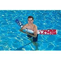 Poolmaster American Stars 游泳池贵宾犬,红色,白色和蓝色,7 月 4 日
