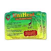 Uniheat 运输加热器 30 小时以上,16 包 >PLUS!< 2-25.4 厘米 x 45.72 厘米运输袋,30 小时以上保暖,适用于运输现场珊瑚人、小宠物、鱼类、昆虫、反绒等等……以及运输袋可存放热量的运输袋