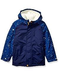 亚马逊品牌 - 斑点斑马男孩幼童和儿童保暖棉衣