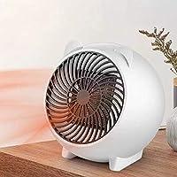 Prointxp普智 取暖器 家用迷你暖风机 办公室桌面取暖器 小型小太阳取暖器 学生宿舍取暖器 便携式速热节能电暖器 (白色)