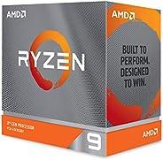 AMD Ryzen 9 3950X 16 核,32 螺纹解锁台式机处理器,无冷却器