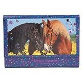 Depesche Horses Dreams 8085 字母纸文件夹,蓝色