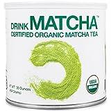 Drink Matcha - Matcha Green Tea Powder - USDA Organic - 100% Pure Matcha Green tea Powder - Nothing added matcha green tea powder 16 oz tin Matcha green tea powder 美国农业部认证抹茶 1磅 美国直邮 包邮包税 …
