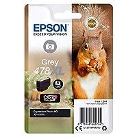 EPSON 单件装 灰色 478XL 小松鼠 Clara 照片高清墨粉