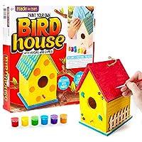Made By Me 四合一木花园 Horizon Group USA Bird House 多色