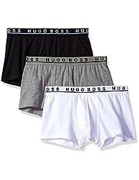 HUGO BOSS BOSS 男式平角内裤3P CO/EL 1014606101