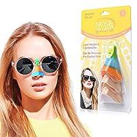 眼镜用紫外线鼻罩 *鼻罩 *鼻罩 防紫外线鼻罩 UPF50+ 鼻梁* 太阳鼻罩 3件套 鼻子紫外线防护罩 *版2020