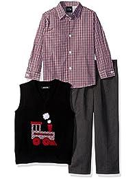 TFW Dresswear 男孩毛衣背心套装