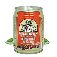 伯朗咖啡 香滑风味咖啡饮料 3合1即饮品 240ml/罐装