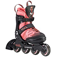 K2 女童直排溜冰鞋 MARLEE PRO - 黑色 - 粉色 - 30D0222.1.1
