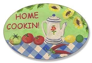 Stupell Home Les Fleurs de Provence 椭圆形厨房墙板 KWP-723