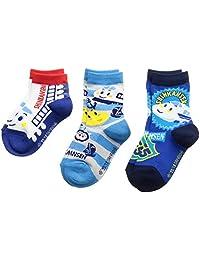 [三丽鸥]SHINKANSEN 儿童袜子 3双装 男孩