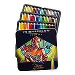 Prismacolor 三福霹雳马 72色铁盒彩铅套装 彩色铅笔 油性彩芯 松木笔杆 软质芯材