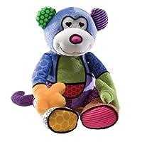 GUND Britto 由国际著名艺术家 Romero Britto for Enesco Monkey 毛绒玩具