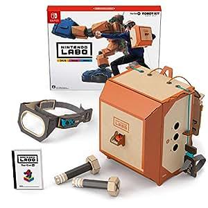 任天堂 Nintendo Labo Toy-Con: Robot Kit-Switch 机器人套装 (无亚马逊限定配件, 需要配合switch主机)