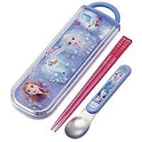 Skater 斯凯达 筷子 勺子 康贝套装 筷子 16.5cm 勺子 13cm 安娜和冰雪奇缘 2 迪士尼 CCA1