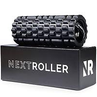 NextRoller 3 速振动泡沫滚轮 - 高强度振动,用于恢复、移动性、负债训练和深层组织触发点运动按摩* - 坚固*电动背部按摩器