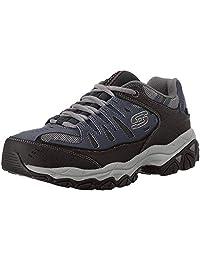 Skechers 斯凱奇 Sport 男士 Afterburn Memory Foam Lace-Up 運動鞋