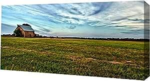 "PrintArt GW-POD-34-10951-16x8""Home Again"" 由 Robert Jones Gallery Wrapped Giclee 油画艺术印刷品,40.64 cm x 20.32 cm"