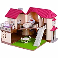 Sylvanian Families 森贝儿家族 过家家玩具 灯光大屋礼品套 适合3岁以上 SF27568